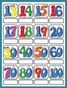 CARDINAL NUMBERS PICTURE DICTIONARY#
