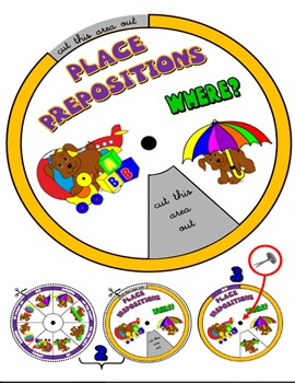 PLACE PREPOSITIONS WHEEL