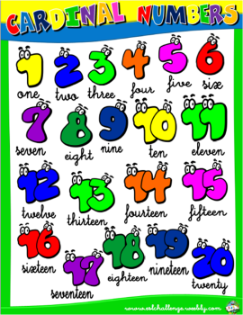 NUMBERS PICTURE DICTIONARY