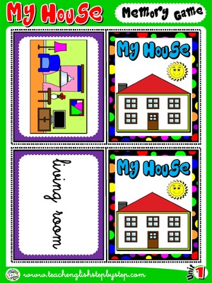 My House - Memory Game