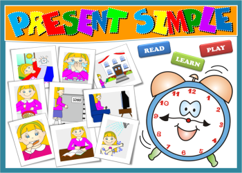 PRESENT SIMPLE PPT GAME + PRESENTATION