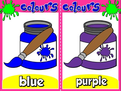Colours - Flashcards