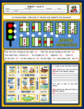 PUBLIC PLACE & GIVING DIRECTIONS WORKSHEET#