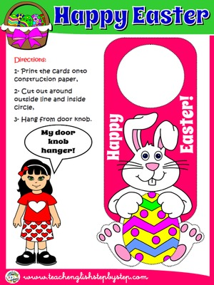EASTER DOOR KNOB HANGER