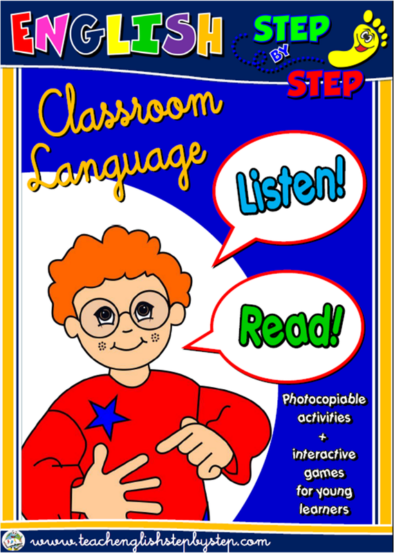 #Classroom Language - ESL Teaching Resources