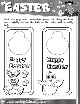 #EASTER DOOR KNOB HANGER