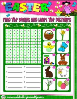 #EASTER WORKSHEET