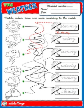 THE WEATHER WORKSHEET