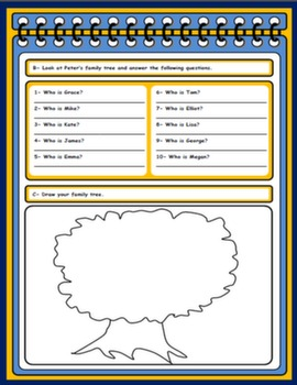 FAMILY WORKSHEET#
