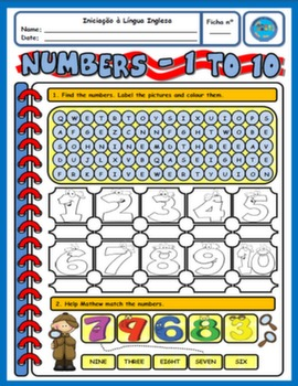 CARDINAL NUMBERS WORKSHEET#