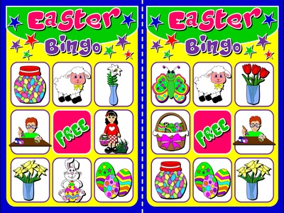 EASTER BINGO (20 CARDS)