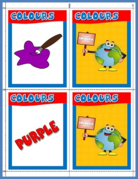 COLOURS MEMORY GAME