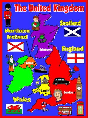 The United Kingdom - Poster