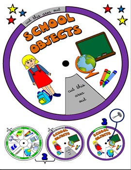 #SCHOOL OBJECTS WHEEL
