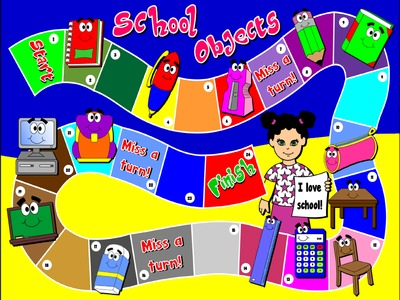 School Objects - Borad Game