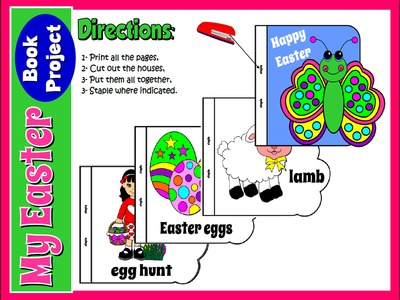 EASTER BOOK PROJECT - DIRECTIONS