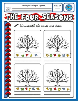 SEASONS WORKSHEET#