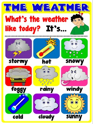 The weather - Poster