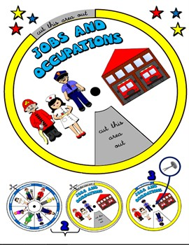 JOBS AND OCCUPATIONS WHEEL