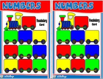 CARDINAL NUMBERS BOARD GAME