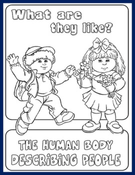 BODY / DESCRIBING PEOPLE UNIT COVER#