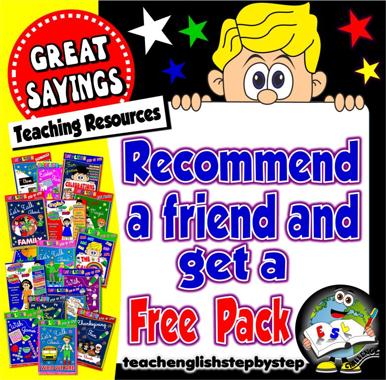 Recommend Teach English Step By Step and win a free pack