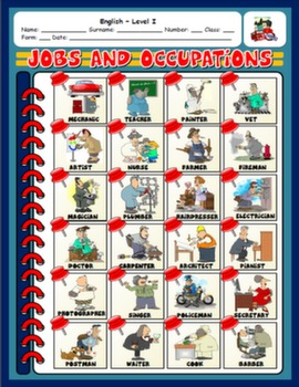 JOBS PICTURE DICTIONARY#