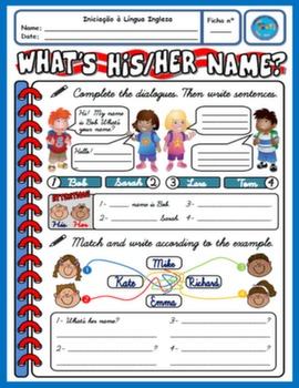 NAMES WORKSHEET#