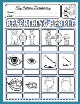 DESCRIBING PEOPLE PICTURE DICTIONARY#