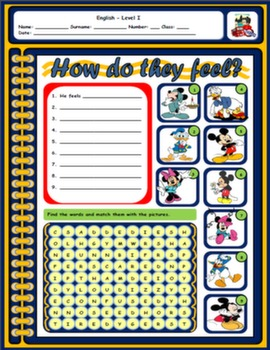 FEELINGS WORKSHEET #