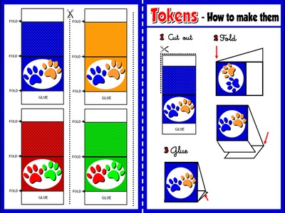 Animals - Board Game Tokens