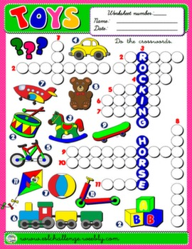 #TOYS WORKSHEET