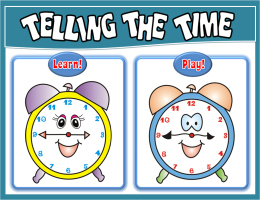 TELLING THE TIME PPT GAME + PRESENTATION