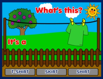 #MY CLOTHES - PPT GAME - PLAYING SPOT