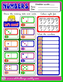 #NUMBERS WORKSHEET