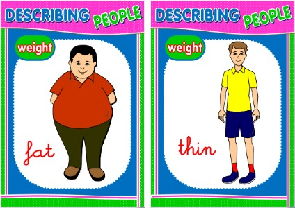 DESCRIBING PEOPLE - FLASHCARDS