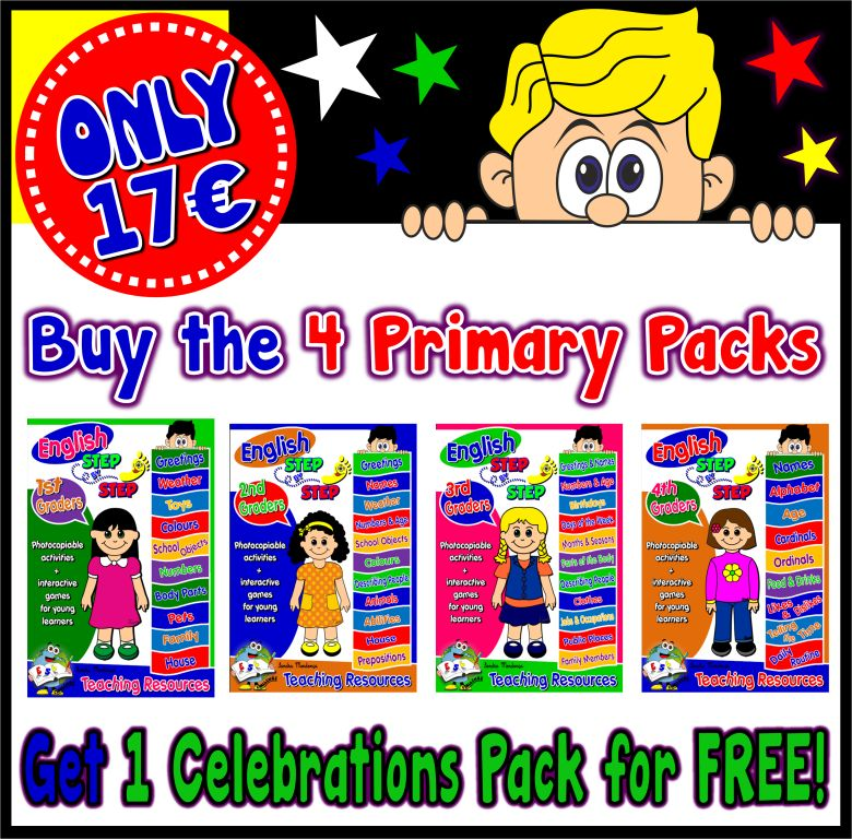 Primary Packs - Special Price